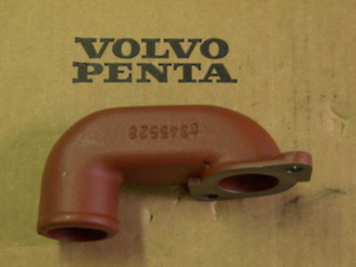 Volvo Penta Aqd Aqad Tmd Tamd 30 & 40 Wet Exhaust Elbow Connector 845528