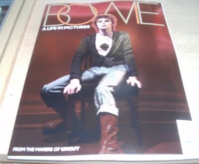 Bowie A Life In Pictures magazine 2017 From the makers of Uncut David Bowie