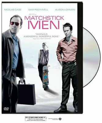 Matchstick Men (Widescreen Edition) (Snap Case) [DVD] [2003] NEW!