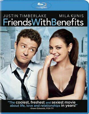 Friends with Benefits [Blu-ray] [2011] NEW!