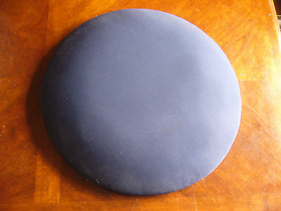 "Lacemaking Pillow 18"" HDP Polystyrene,Varnished base,felt inner,navy blue drill."