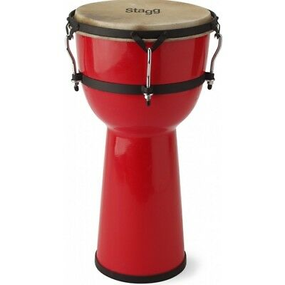 Stagg DPY-12 Large Djembe - Red
