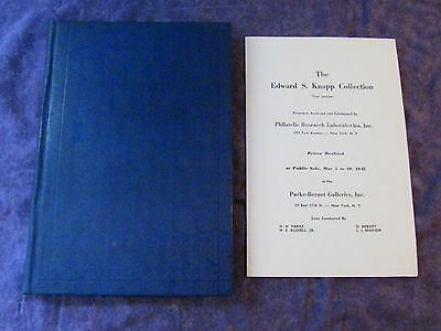 Hardcover 1941-2 THE EDWARD S. KNAPP COLLECTION PARTS 1-3 Auction Catalogues