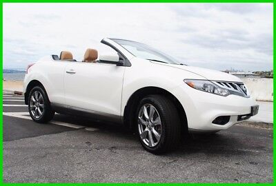 2014 Nissan Murano CrossCabriolet Convertible 2-Door 2014 Used 3.5L V6 24V Automatic AWD SUV Premium Bose