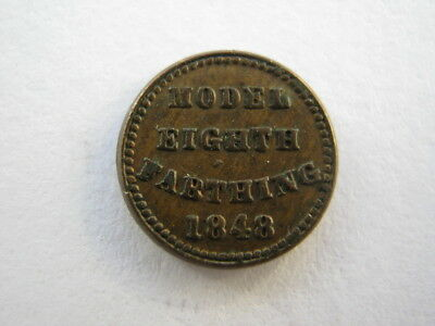 1848 Model Eighth Farthing VF