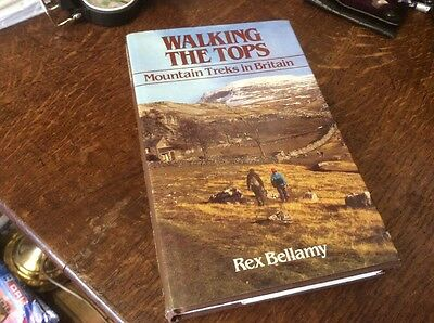 Walking The Tops Mountain Treks In Britain Hardback First Edition Great Guide