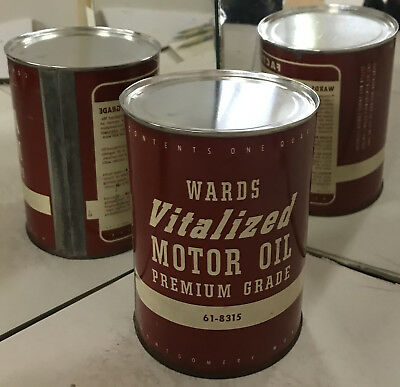 Vintage usa esso metal quart motor oil can humble very for How long does motor oil last