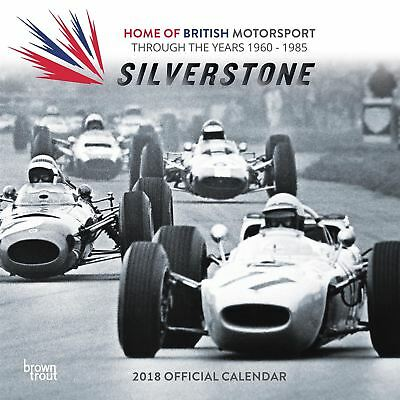 Silverstone: Through the Years 1960-1985 Square 2018  Calendar