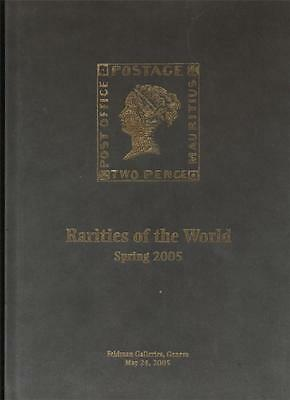Used Hardcover DAVID FELDMAN Spring 2008 RARITIES of the WORLD Auction Catalog