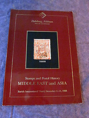 DAVID FELDMAN 1988 MIDDLE EAST and ASIA Auction Catalogue