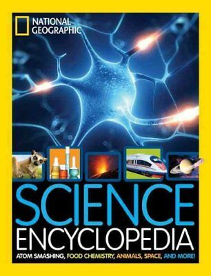 Science Encyclopedia Atom Smashing, Food Chemistry, Animals, Sp... 9781426325427