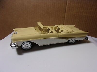 Ford Fairlane 500 Convertible Vintage Promo Model Friction Car  T*