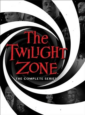 THE TWILIGHT ZONE THE COMPLETE SERIES New Sealed 25 DVD Set Seasons 1 2 3 4 5