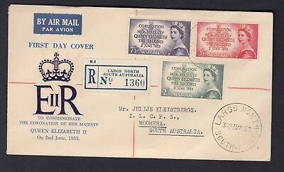 1953 CORONATION Registered First Day Cover