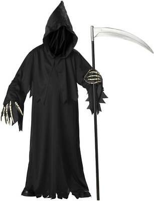 Child Boys Grim Reaper Deluxe Halloween Costume