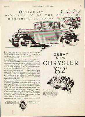 """1927 Chrysler """"62"""" Coupe ad"""