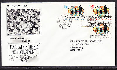 "United Nations ""Artcraft"" 1966 - WHO Headquarters FDC addressed"