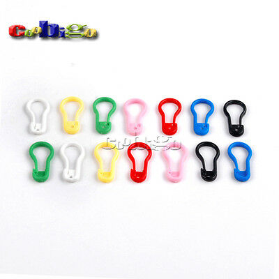 Plastic Safety Pins Mix Multi-colour For Garment Accessories 22mm*11mm