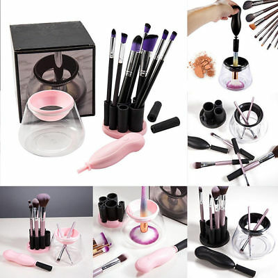 Brush Makeup Cleaner Electric Cosmetic Wash Clean & Dry Washing Tool Set Beauty