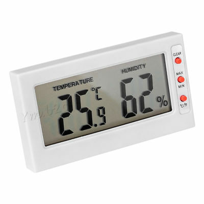 Digital LCD Humidity Thermometer Hygrometer Max Min Memory Celsius Fahrenheit