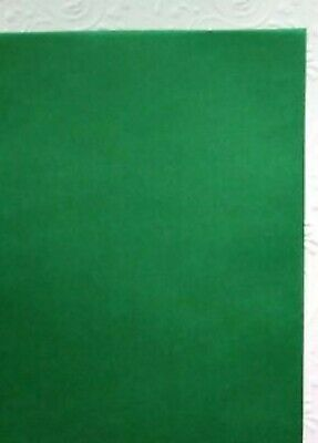 10 x Christmas Green Vellum Coloured Translucent Tracing Paper A4