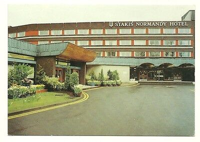 Renfrew - a larger format, photographic postcard of Stakis Normandy Hotel