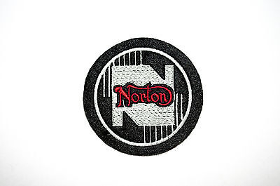 Classic Norton Motorcycle Embroidered Sew On Patch-Manx,commando