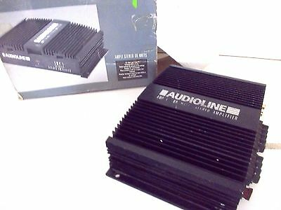 Audioline Car Stereo Amplifier [Working & Boxed]