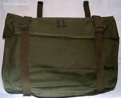 """Unissued American:""""US M-1945 WEB CARGO PACK"""" (Lower Pack, dated 1950 on inside)"""