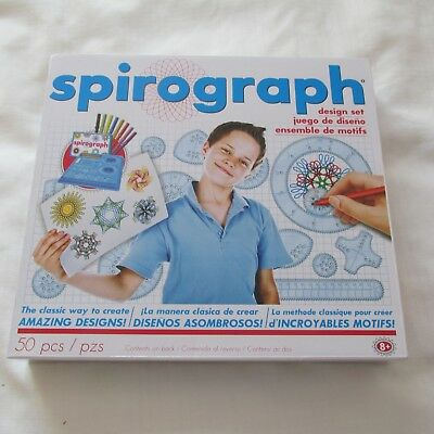 2013 Hasbro Spirograph Design Set Stencil Drawing