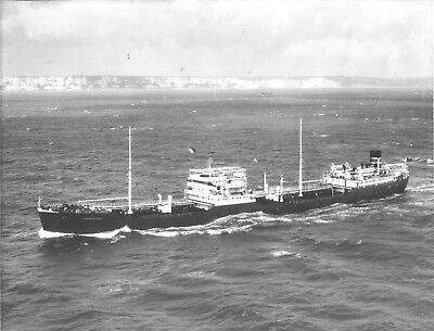Ss British Commander Orig. Photo. Dated 1933 Which Was Sunk By German Ship 1940