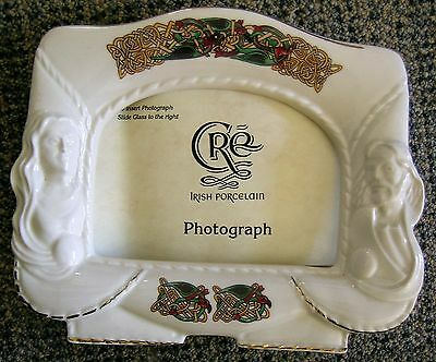 Irish Porcelain Ornamental Picture / Photo Frame CRE Galway Celtic Gaelic McCaul