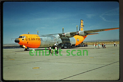"Original Slide, USAF Douglas C-133A Cargomaster ""Ol Smokey"" at Edwards AFB, 1959"