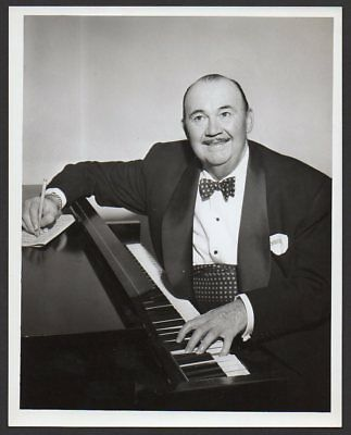 PAUL WHITEMAN composer conductor bandleader VINTAGE ORIG TV PROMO PHOTO 7x9