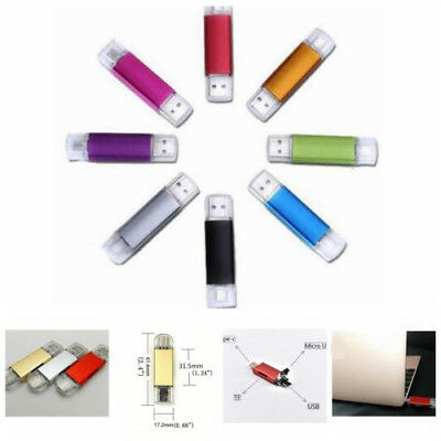 2TB 1TB Type-C OTG Micro USB Flash Drive Memory Stick Card Reader for Phone PC
