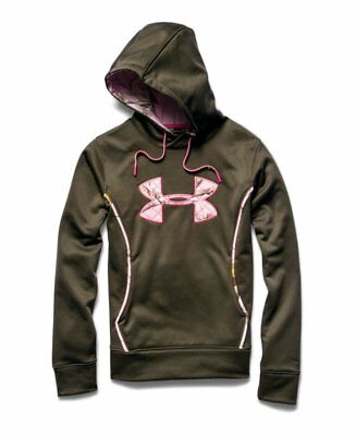 Under Armour Women's Storm Caliber Hoody MD Green 1247106-308-MD
