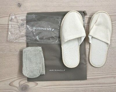 Air France Business Class AF Slippers Socks Schlappen Socken NEU NEW!