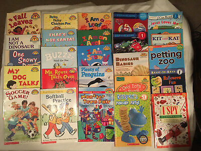 Lot HELLO READER Scholastic STEP INTO READING level 1 mostly BOYS Disney CARS