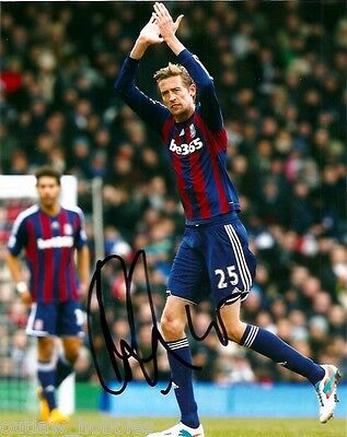 Stoke City Peter Crouch Autographed Signed 8x10 Photo COA