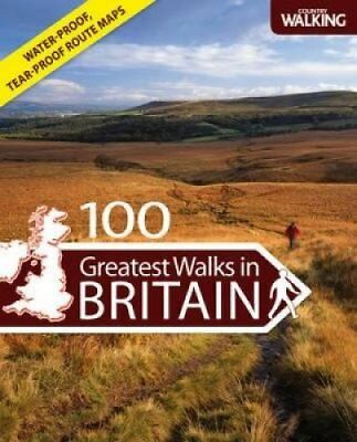"100 Greatest Walks in Britain by ""Country Walking"" Magazine 9780715337752"