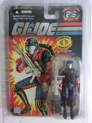 Gi Joe Action Force 25Th Infantry Cobra Viper Action Figur Mosc Neu Ovp Hasbro