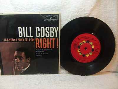 Bill Cosby – is a Very Funny Fellow Right ! 1963 EP Warner Bros WEP 6126