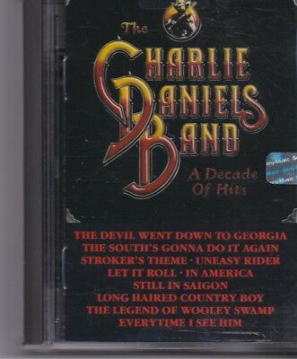 The Charlie Dniels Band-A Decade Of Hits minidisc album