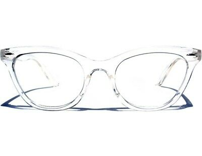CAT EYE Classic Retro Style Clear Lens Glasses Vintage Style Transparent Frame