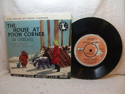 House at Pooh Corner – dramatised story 1960 EP HMV 7EG 117 junior record club