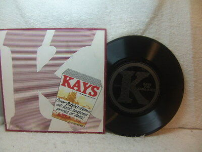 Kays Catalogue – Autumn-Winter 1981/2 advertising / promotional Flexi Disc