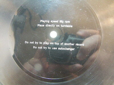 Michael Collins Rothwell Plant Breeders talks Barley 1970 Flexi Disc Lyntone L