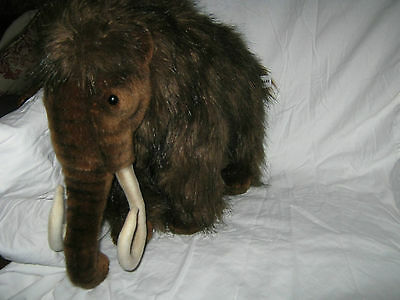 FAO Schwarz WOOLLY MAMMOTH Stuffed Animal By Hansa