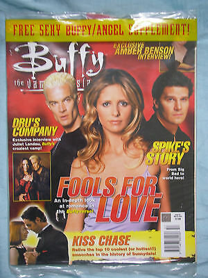 Official UK Buffy the Vampire Slayer Magazine #57 - March 2004 + free supplement