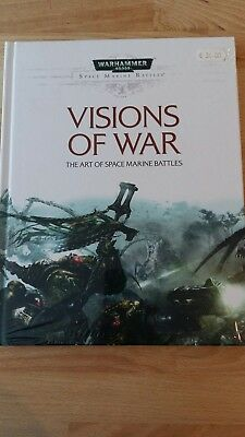 Warhammer 40K Visions of War hardback book in mint condition